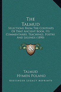 The Talmud by Talmud, Hymen Polano (9781166193003) - PaperBack - Modern & Contemporary Fiction Literature