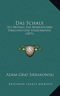 Das Schaui by Adam Graf Sierakowski (9781167769542) - HardCover - Modern & Contemporary Fiction Literature
