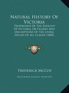 Natural History of Victoria by Frederick McCoy (9781169770881) - HardCover - Modern & Contemporary Fiction Literature