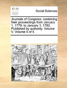 Journals of Congress by See Notes Multiple Contributors (9781170218655) - PaperBack - Social Sciences Sociology