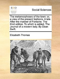 The Metamorphoses of the Town by Elizabeth Thomas (9781170410394) - PaperBack - Social Sciences Sociology