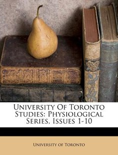 University of Toronto Studies by University Of Toronto (9781248879818) - PaperBack - History