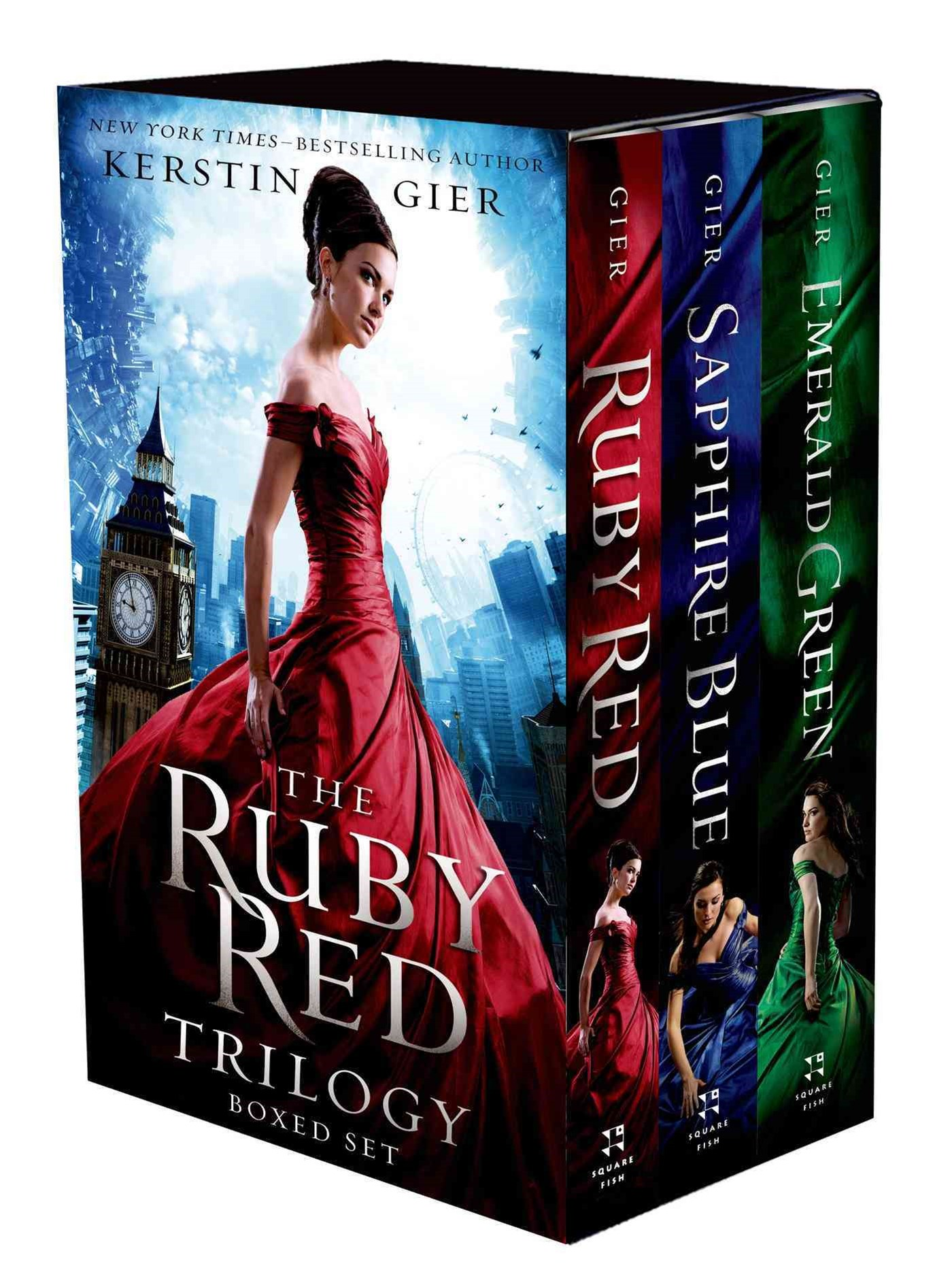 The Ruby Red Trilogy Boxed Set