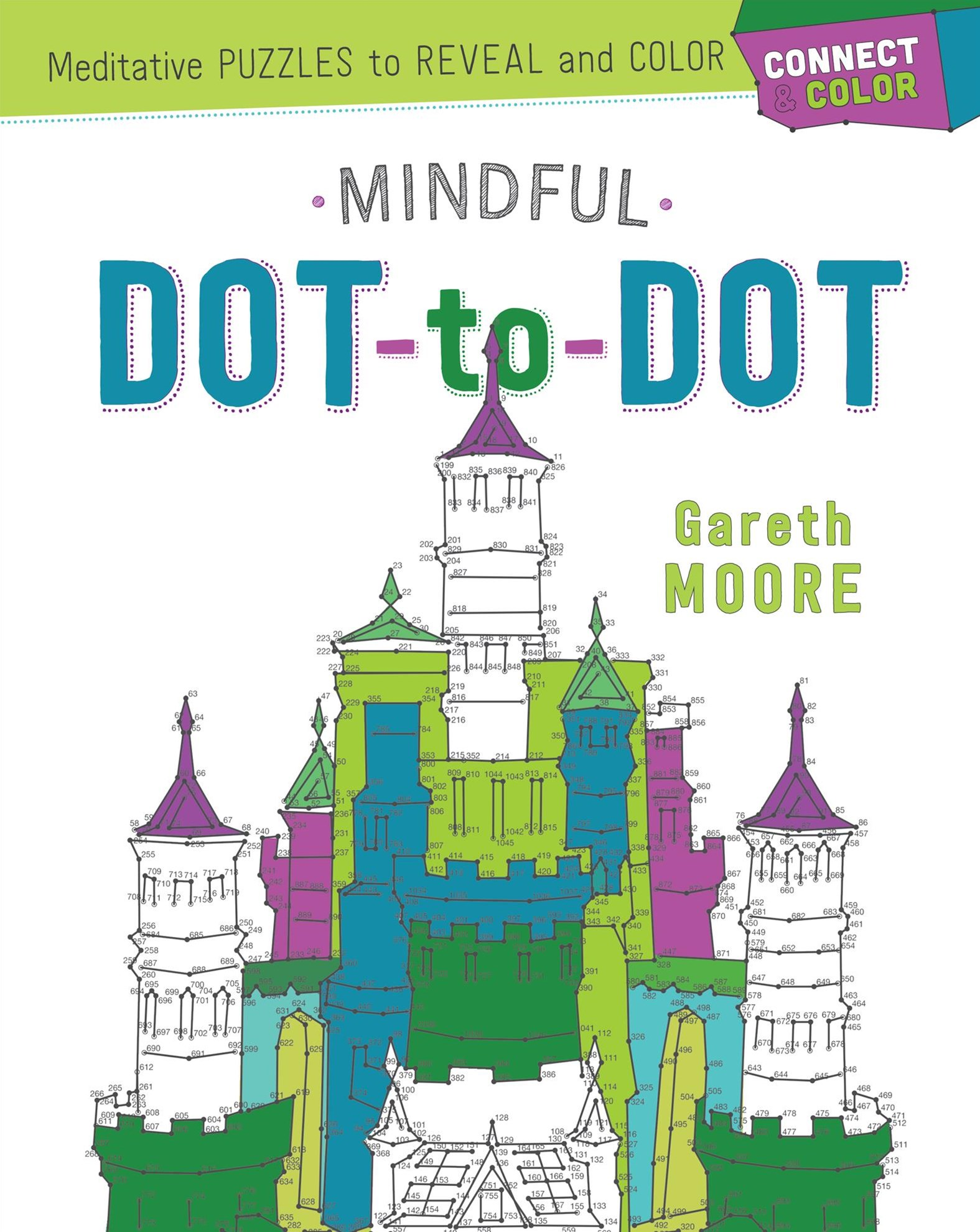 Connect and Color: Mindful Dot-To-Dot