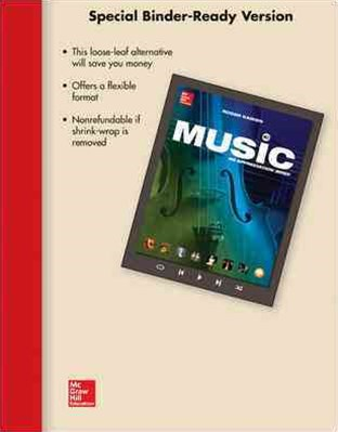 Flex Pack Ll Music W/ Connect Plus Access Card and Mp3 Download Card