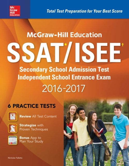 McGraw-Hill Education SSAT/ISEE 2016-2017