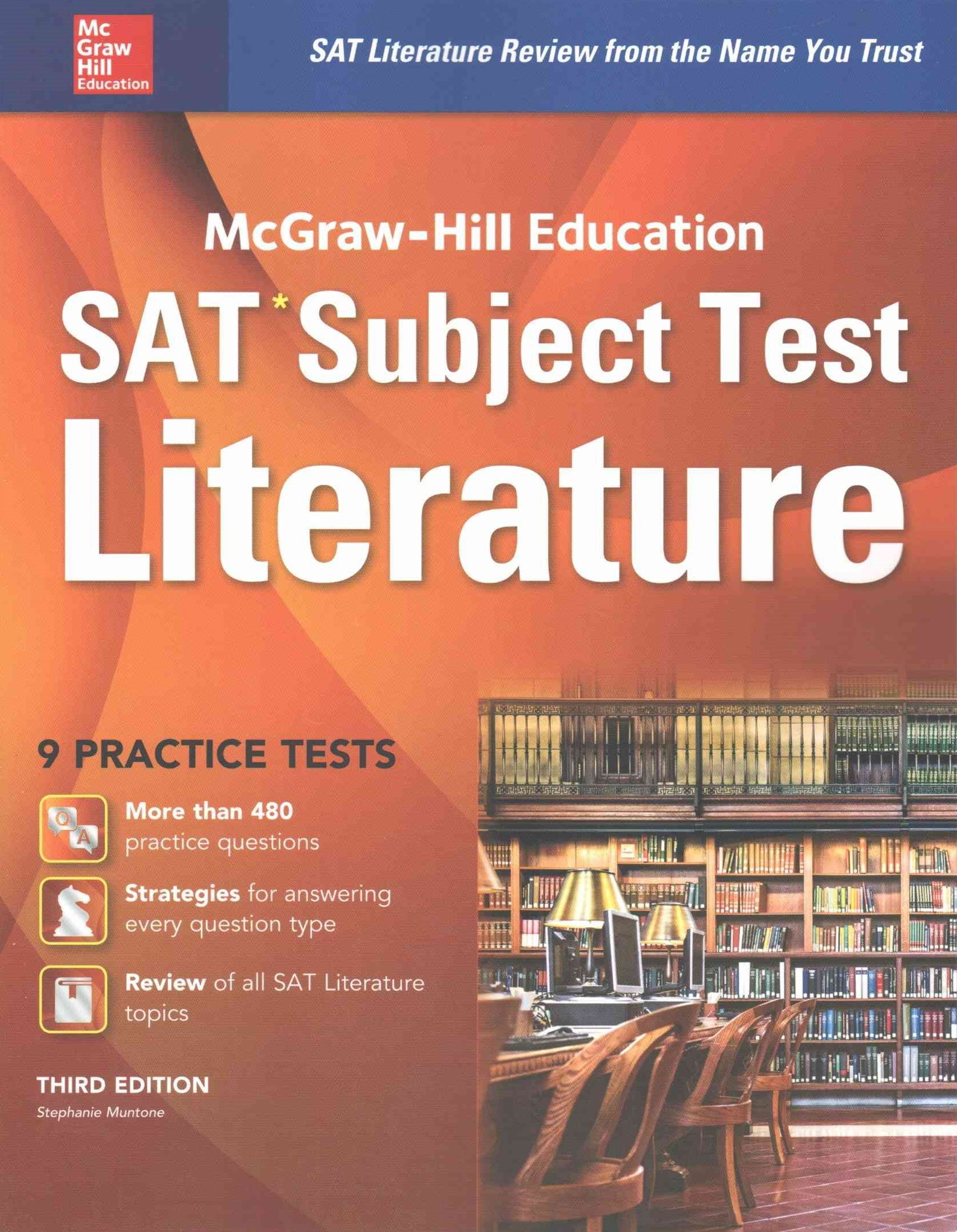 McGraw-Hill Education SAT Subject Test Literature 3rd Ed