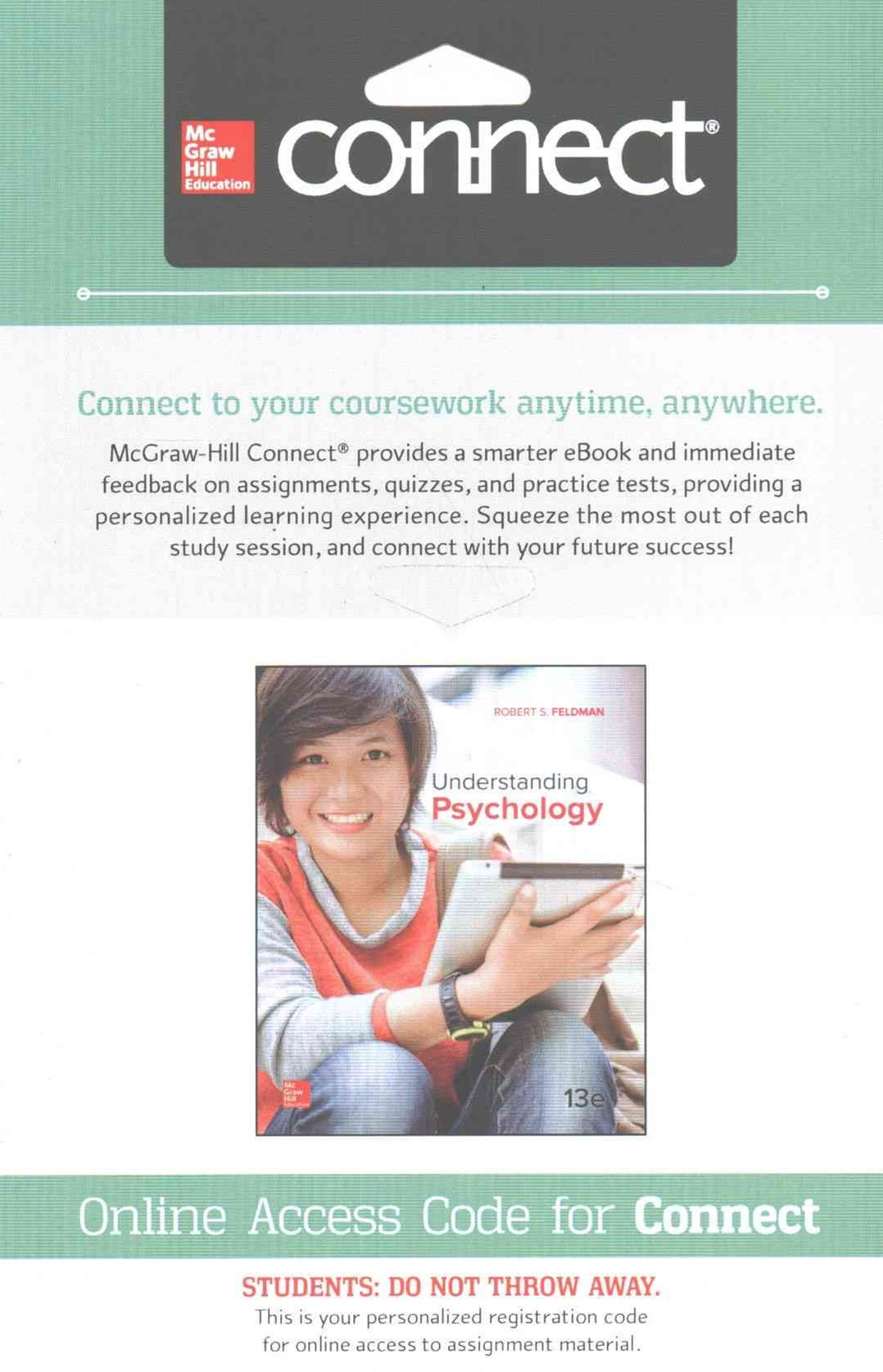 Connect Access Card for Understanding Psychology