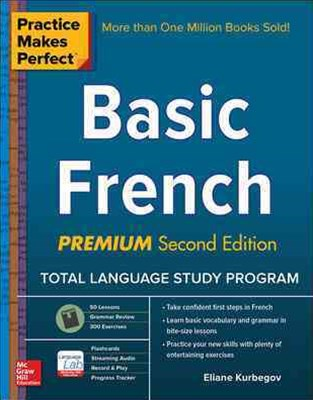 Practice Makes Perfect: Basic French, Premium