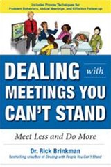 Dealing with Meetings You Cant Stand
