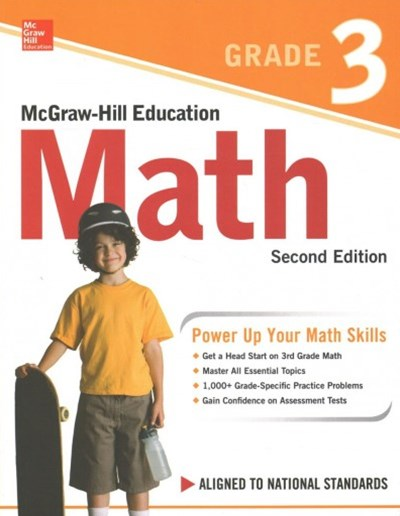 Mcgraw-hill Education Math, Grade 3