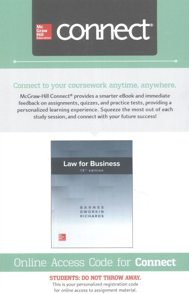 Law of Business Connect Access Card
