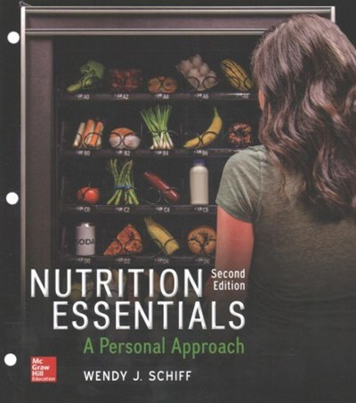 Gen Combo Looseleaf Nutrition Essentials: a Personal Approach; Connect AC