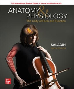ANATOMY PHYSIOLOGY THE UNITY OF FORM & F by SALADIN (9781260571295) - PaperBack - Reference Medicine