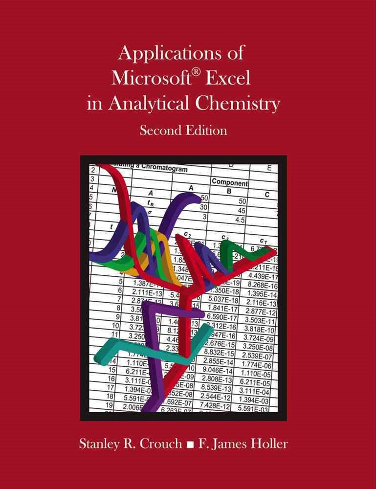 Applications of Microsoft© Excel in Analytical Chemistry