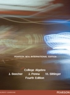 (ebook) College Algebra: Pearson New International Edition - Science & Technology Mathematics