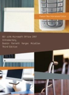 (ebook) GO! with Microsoft Office 2007 Introductory: Pearson New International Edition - Computing Program Guides