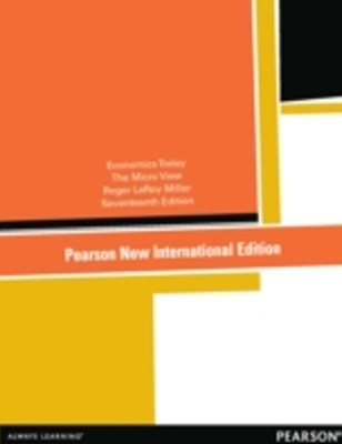 Economics Today: Pearson New International Edition