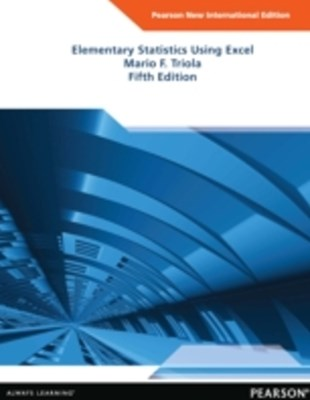(ebook) Elementary Statistics Using Excel: Pearson New International Edition