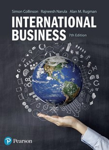 International Business by Simon Collinson, Rajneesh Narula, Alan M. Rugman (9781292064390) - PaperBack - Business & Finance Ecommerce