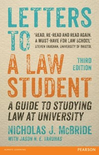(ebook) Letters to a Law Student 3rd edn - Education Tertiary
