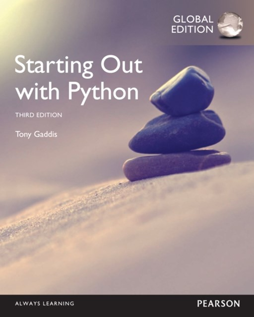 (ebook) Starting Out with Python, Global Edition