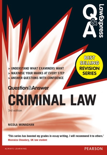 (ebook) Law Express Question and Answer: Criminal Law (Q&A revision guide)