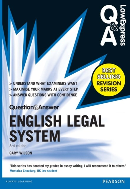 (ebook) Law Express Question and Answer: English Legal System(Q&A revision guide)