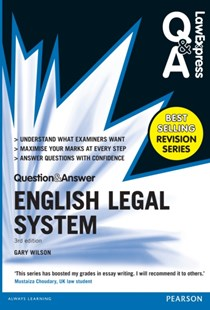 (ebook) Law Express Question and Answer: English Legal System(Q&A revision guide) - Reference Law