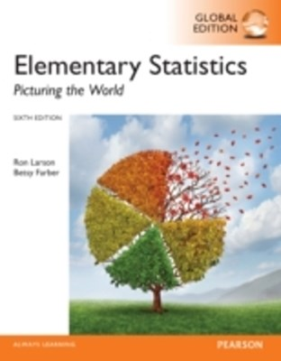 (ebook) Elementary Statistics: Picturing the World, Global Edition