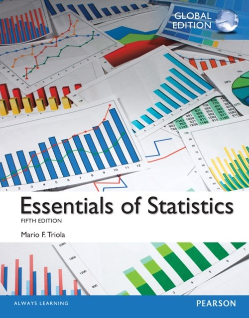 (ebook) Essentials of Statistics, Global Edition