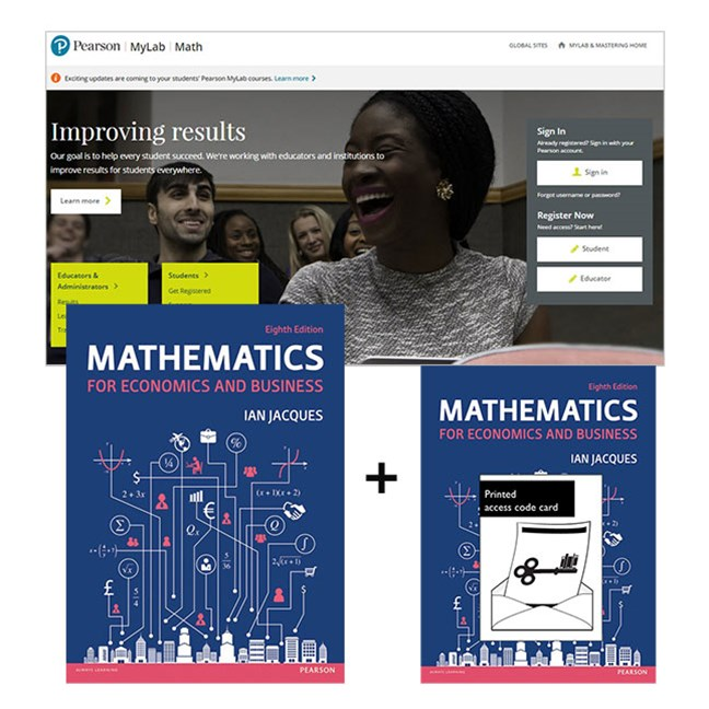 Mathematics for Economics for Business + MyMathLabGlobal