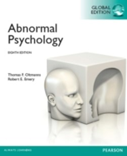 (ebook) Abnormal Psychology, Global Edition - Social Sciences Psychology