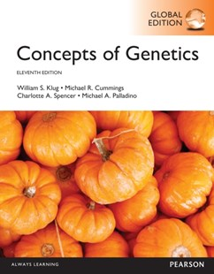 (ebook) Concepts of Genetics, Global Edition - Science & Technology Biology