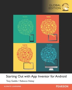 (ebook) Starting Out With App Inventor for Android, Global Edition - Computing Programming