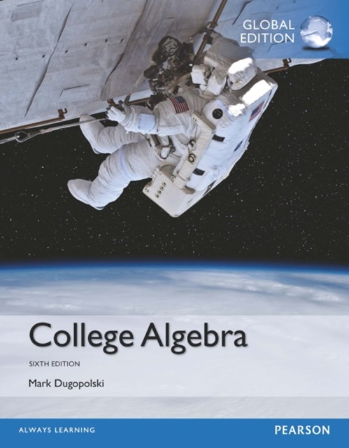 (ebook) College Algebra, Global Edition