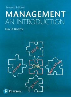 Management: An Introduction by David Boddy (9781292088594) - PaperBack - Business & Finance Ecommerce