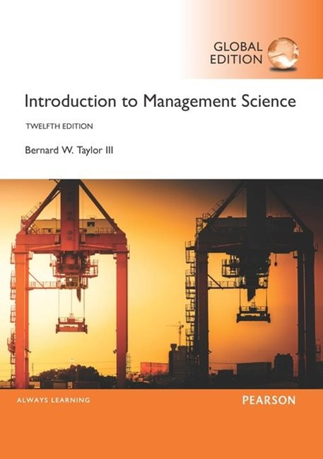 Introduction to Management Science, Global Edition