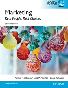 (ebook) Marketing: Real People, Real Choices, Global Edition - Business & Finance Sales & Marketing