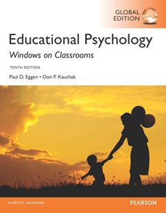 (ebook) Educational Psychology: Windows on Classrooms, Global Edition - Social Sciences Psychology