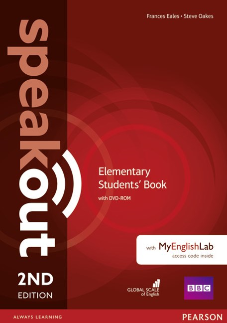 Speakout Elementary Students' Book with DVD + MyEnglishLab