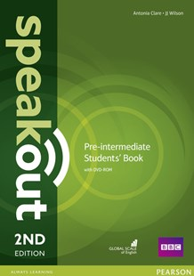 Speakout Pre-Intermediate Students' Book with DVD by Antonia Clare, J. J. Wilson (9781292115979) - Multiple-item retail product - Language English