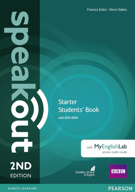Speakout Starter Students' Book with DVD + MyEnglishLab