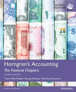 (ebook) Horngren's Accounting, The Financial Chapters, Global Edition - Business & Finance Accounting