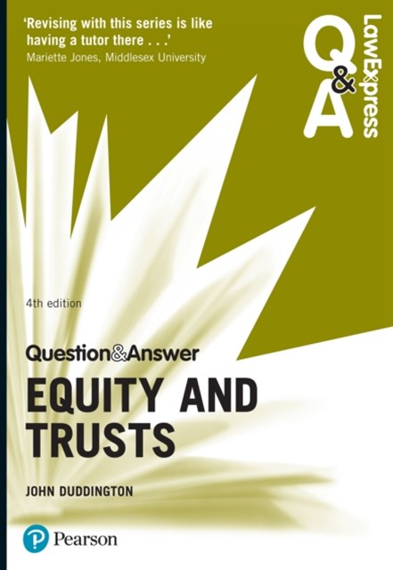 (ebook) Law Express Question and Answer: Equity and Trusts