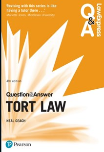 (ebook) Law Express Question and Answer: Tort Law - Reference Law