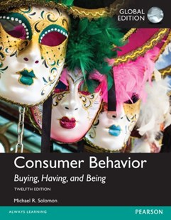 Consumer Behavior by Michael R. Solomon (9781292153209) - Multiple-item retail product - Business & Finance Sales & Marketing