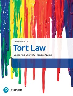 (ebook) Tort Law - Reference Law