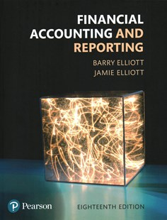 Financial Accounting and Reporting by Barry Elliott (9781292162409) - PaperBack - Business & Finance Accounting