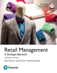 Retail Management: A Strategic Approach, Global Edition by Barry R. Berman, Joel R. Evans, Patrali M. Chatterjee (9781292214672) - PaperBack - Business & Finance Organisation & Operations